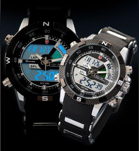 Shark-Mens-Alarm-Chronograph-Black-Army-Military-Sport-Wrist-Watch-Box-SH042