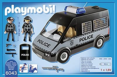 Playmobil 6043 City Action Police Van
