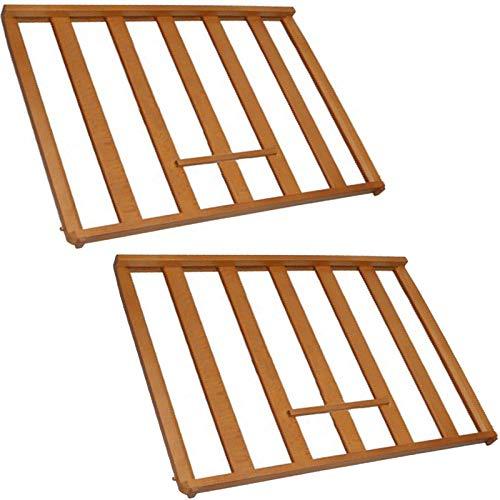 Spares2go universal scaffale portabottiglie inserto per glacette cabinet frigo cantina (confezione da 2)