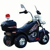 JBMY Bébé Moto Enfants Électrique Garçon Fille 3-6 Ans LargeTricycle Moto Cadeau Off-Road Moto Ride sur Voitures en Plein Air Jouet ( Color : Black )