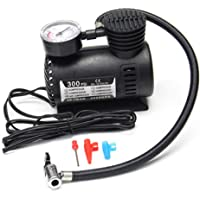Autofasters® Air Compressor Inflator Pump for car, Bike, tubeless tyre. 12V 300 PSI air Pump