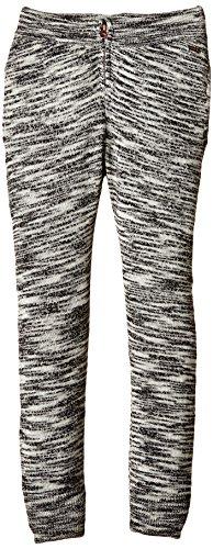 NAME IT Mädchen Hose Nitlaka K Baggy Knit Pant 515, Gr. 140, Mehrfarbig (Black)