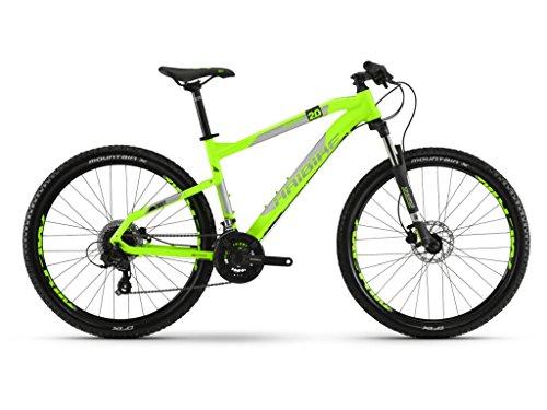 Haibike Mountain Bikes SEET HardSeven 2.0 24-G Acera Mix 18 HB Neon Green/Silver/Black matt Large