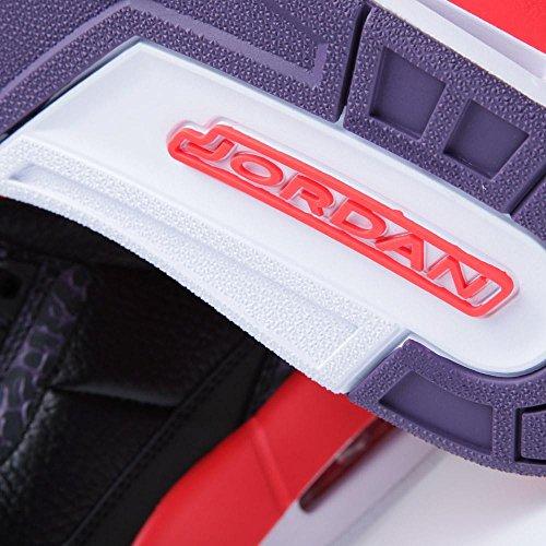 Nike , Chaussures de ville à lacets pour homme black/brght crmsn-cnyn prpl-pr