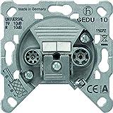 GIRA Serie Standard 55 - reinweiß glänzend (GEDU 10) Durchgangsdose - Zubehör