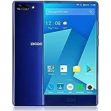 DOOGEE MIX Smartphone 4G Android 7,0 FDD-LTE 4G/6G + 64G Affichage AMOLED de 5.5 pouces 720 * 1280P Helio P25 Octa-core 16MP + 8MP double Caméra Arrière 5.0MP avant Fingerprint Quick Charge Dual Sim