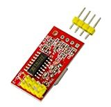 MissBirdler AD7705 Dual 16-Bit ADC Data Acquisition Modul SPI Precise TM7705 for Arduino Raspberry Pi