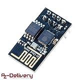 AZDelivery ⭐⭐⭐⭐⭐ esp8266 ESP-01S WLAN WiFi Modul für Arduino und Raspberry Pi mit gratis eBook!