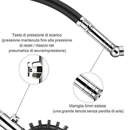 Tacklife-TPS02L-Manometro-Pneumatico-Classico-per-Auto-Moto-Bicicletta-SUV-RV-e-ATV-ecc-Con-Giunto-a-Sfere-360-Gradi-Precisione-ANSI-B401-Grado-B-2-Campo-di-misura-0-60-PSI-4-bar-0-400-Kpa