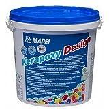 kerapoxy Design Mapei 3kg, Farbe kerapoxy Design anthrazit 114