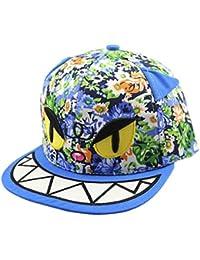 Mit Blumenmuster mit Vintage-Motiv: Katze Kid's Fitted Cap Mütze Boy Girl New