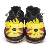 Suaves Zapatos De Cuero Del Bebé Tigre 12-18 meses