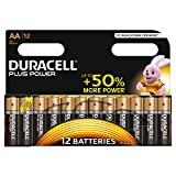 Duracell Plus Power Typ AA Alkaline Batterien, 12er...