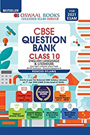 Oswaal CBSE Question Bank Class 10 English Language & Literature (Reduced Syllabus) (For 2021 E