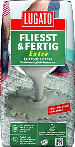Lugato Fließt und Fertig extra 20 kg/ Sack für innen und außen, bis 50mm Höhe