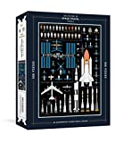 #5: The History of Space Travel Puzzle: Astronomical 500-Piece Jigsaw Puzzle & Poster (Pop Chart Lab)