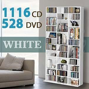 1116 Cd 528 Dvd Storage Shelf Rack Unit Adjustable Book