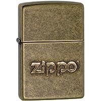 Zippo 60.002.307Briquet estampillé, Collection Printemps, Laiton Vieilli
