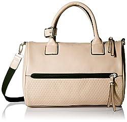 Kenneth Cole Wall St Barrel Women's Handbag (Mink) (K37334/69)