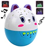 #4: MousePotato Clever Egg Star Projector with Light & Sound Plays Soothing Music & Projects Ambient Lights (Assorted Colours)