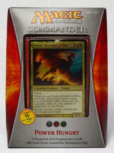 Preisvergleich Produktbild Magic The Gathering Commander Deck - Power Hungry ENGLISCH