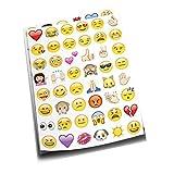Emoji Aufkleber 19 Blätter mit Emoj...
