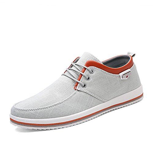 tuch Schuhe Eben Weich Leicht Beiläufig Gehen Schuhe Sneaker Espadrilles Komfort Weiß ()