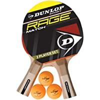 Dunlop Ac Rage Match 2 Player Set - Kit de ping pong