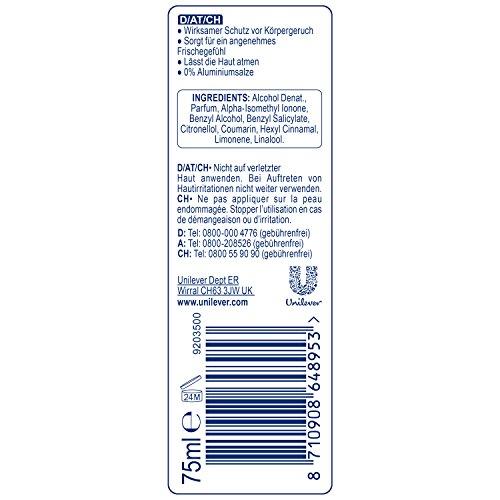 Rexona Desodorante Spray pulverizador Pure Fresh sin aluminio
