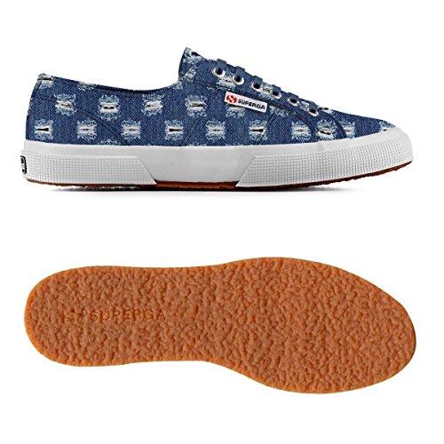 Superga 2750 Rippedjnsu Damen Sneaker Blue