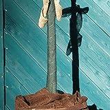 AFP Winterschutz Wickelband Jute, grün 18 x 1000 cm/Juteband als Stammschutz für Hochstammrosen, Jungbäume, Obstbäume Frostschutz/Naturmaterial Wolle / / 2 Jutesäckchen gratis