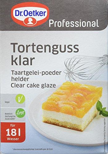 Dr. Oetker Professional Tortenguss klar, 1er Pack (1x 1 kg)