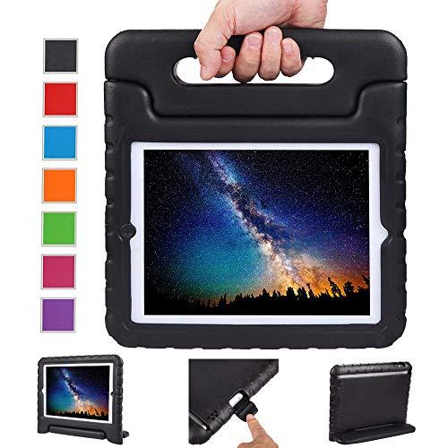 NEWSTYLE Apple iPad 2/3 / 4 Eva Stoßfeste Schutzhülle Tragbar für Kinder mit Ständer Schutzhülle Standfunktion für iPad 2/3 / 4 Tablet,- Schwarz