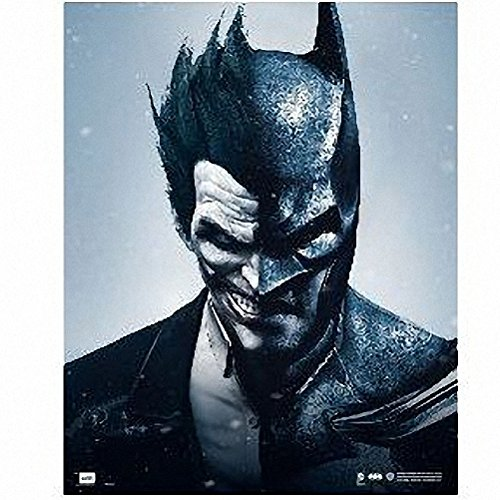 Grupo Erik Editores MPGE0139 - Mini poster DC Comic Batman vs Jockerm, Arkham Origins, 40x 50cm