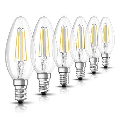 Osram Retrofit Cl 40 Bombilla LED, E14, 4 watts, Blanco,