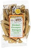 Werz Dinkel-Vollkorn-Knusper-Stängli ungesüßt, 2er Pack (2 x 125 g Packung) - Bio -