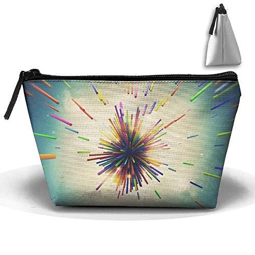Cosmetic Bag Zipper Aufbewahrungstasche Portable Ladies Travel Dark People Right Moves OneRepublic Artistic Kosmetiktasche -