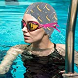 BigHappyShop Swim Cap,Party Sausage Dogs Thicker Design Waterproof Silicone Swimming Cap for Adult Woman and Men