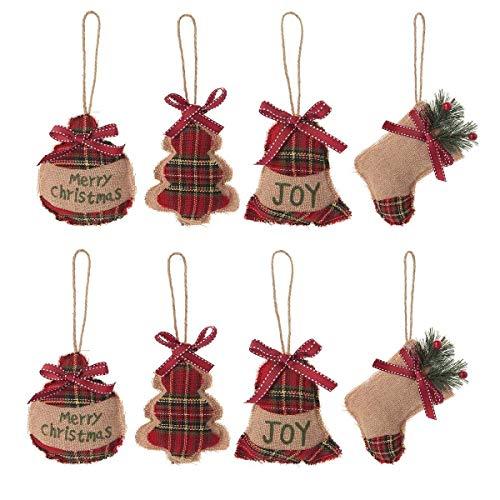 Moonvvin Mini Árbol de Navidad Decoración