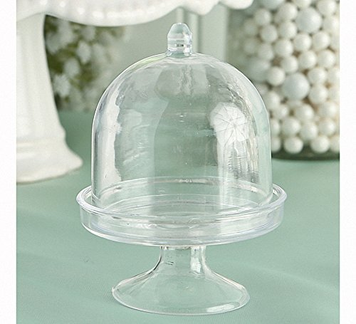 Mini Cake Stand / Plastic Box From The Perfectly Plain Collection , 200 by Fashioncraft Plain Cake Box
