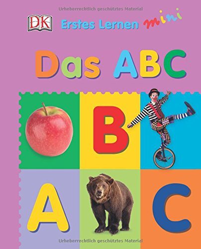Erstes Lernen mini. Das ABC