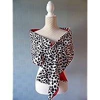 Dalmatian stole, fancy dress costume wrap