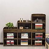 XQY Hauptschlafzimmer-Bücherregal-Bücherregal-Antike-Bambuskunst schnitzte 4 Schichten mit Fächern Regal-Lagerregal, Studentenschlafzimmer-Bett-Bücherregal,70 * 29 * 123cm