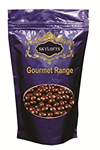Skylofts 300gms Chocolate Covered Blueberry Dried Fruit coated Nuts Pouch