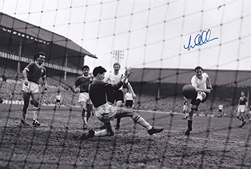 SALE-20-OFF-RRP-GUARANTEED-AUTHENTIC-TOT-056-HAND-SIGNED-12×8-PHOTO-TOTTENHAM-1961-LES-ALLEN