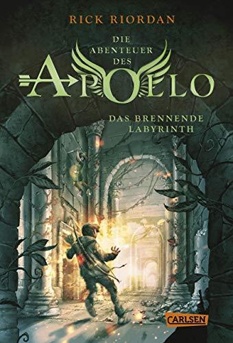 Buchcover Die Abenteuer des Apollo 3: Das brennende Labyrinth