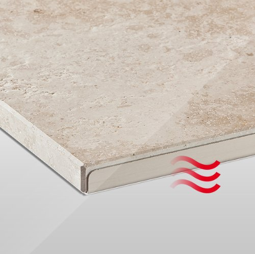 Granotech® Marmor-Infrarotheizung / 800 Watt Jura - 2