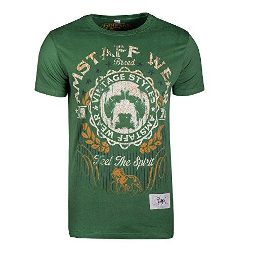 Amstaff Vintage Malex T-Shirt Grün