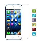 Lokeke iPod Touch Protection d'écran, d'écran en verre trempé pour Apple iPod Touch 7e 6e 5e génération