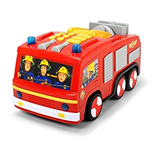 Dickie Toys 203096001 Feuerwehrmann Sam Super Tech Jupiter, bunt